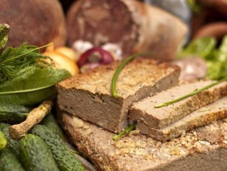 Домашен пастет от патешки дробчета - снимка на рецептата